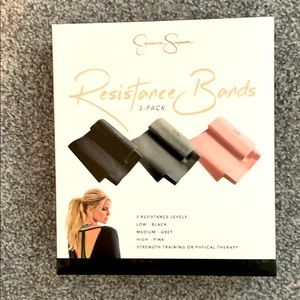 3 pack Jessica Simpson resistance bands.